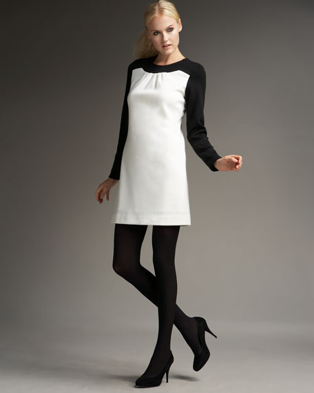 Kathryn Colorblock Shift Dress