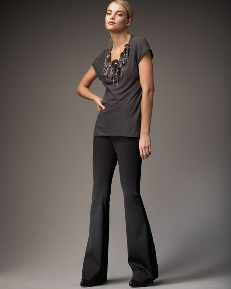 Stacey Knit Bell Pants
