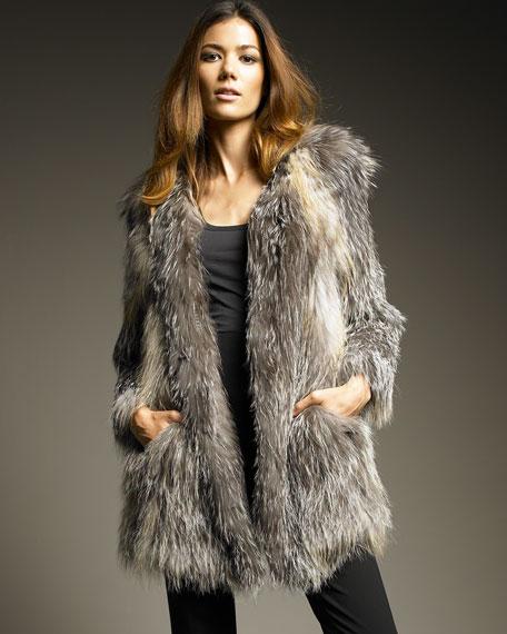 Fox-Fur Jacket