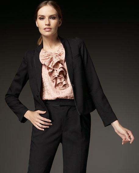 Oxford Stretch Wool Jacket