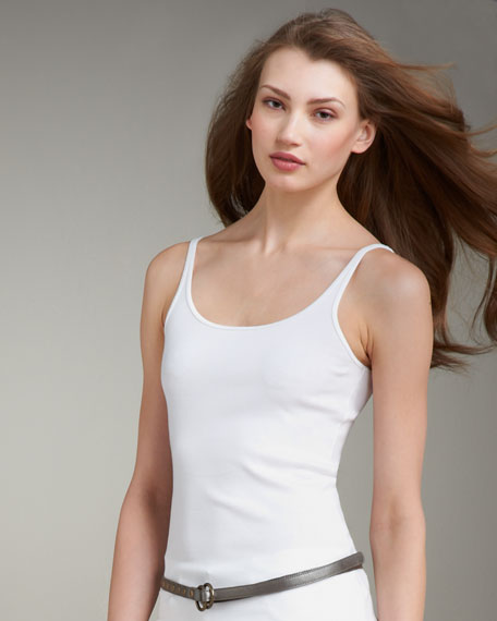 Organic Ribbed Camisole , Women's