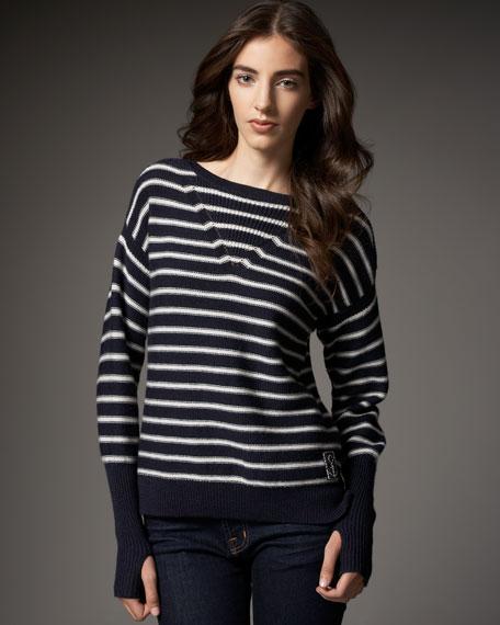 Rebecca Taylor Striped Sailor Sweater