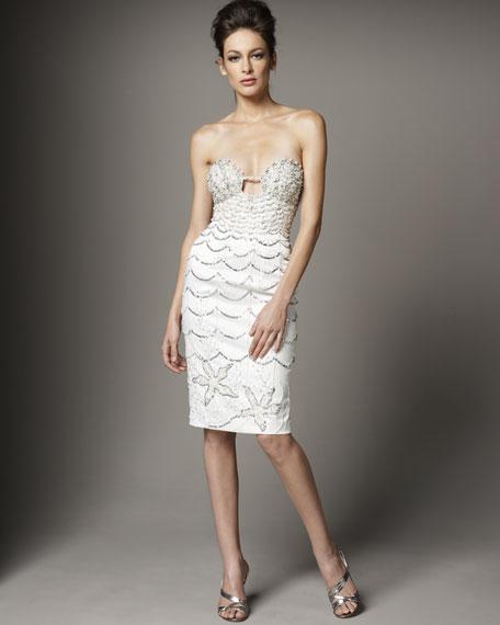 Beaded Shell Dress