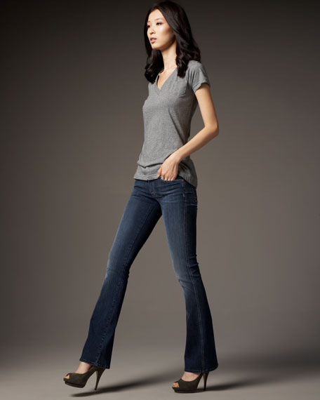 A-Pocket Heureux Mini-Stud Jeans