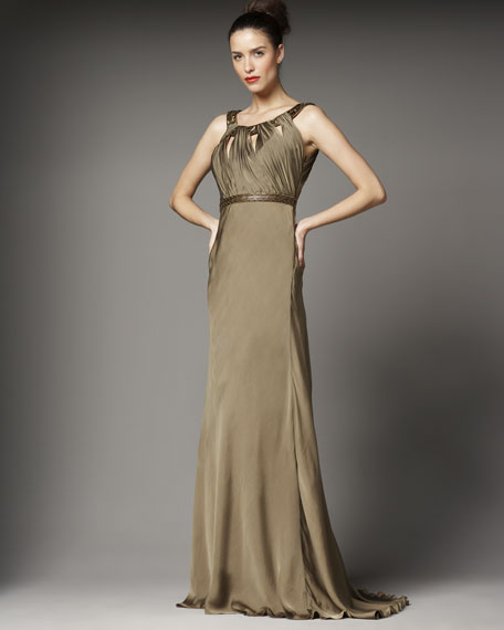 Deco-Bead Grecian Gown