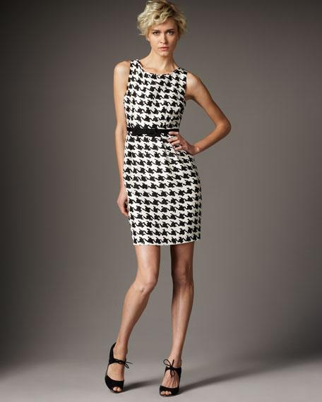 lola houndstooth dress
