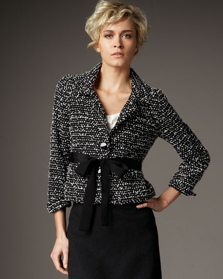 edina tweed jacket