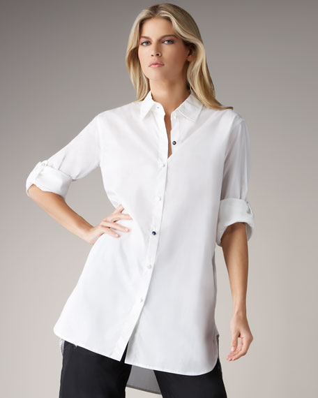 Novelty Button Big Shirt