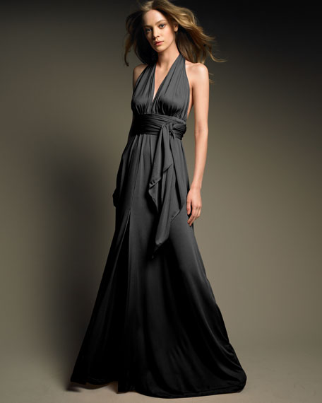 Long Halter Gown