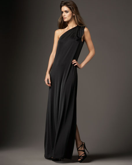 Shoulder-Knot Gown