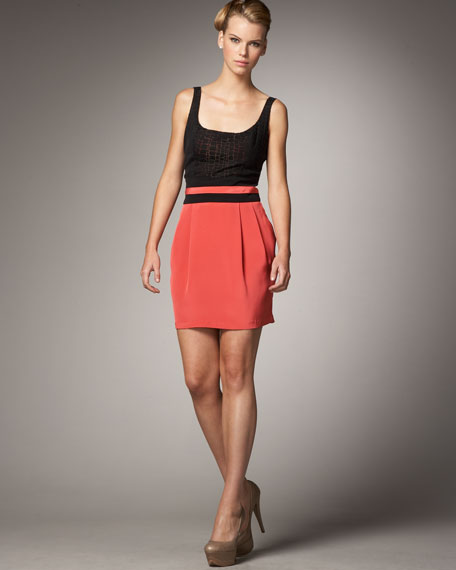 Selldorf Combo Dress