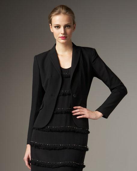 Knit-Insert Jacket