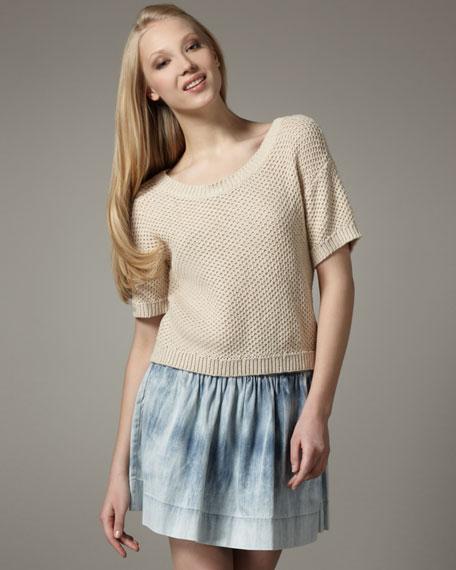 Flirt Denim Skirt