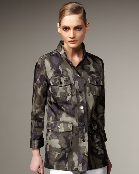 Jane PostCamo Safari Jacket