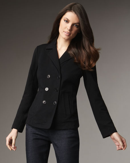 French Terry Peacoat, Women's