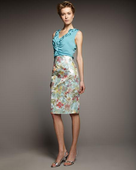 High-Waist Slim Skirt