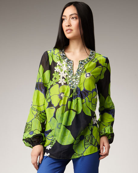 Ashlee Beaded Tunic