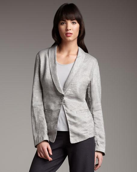 Twinkle Linen-Blend Jacket