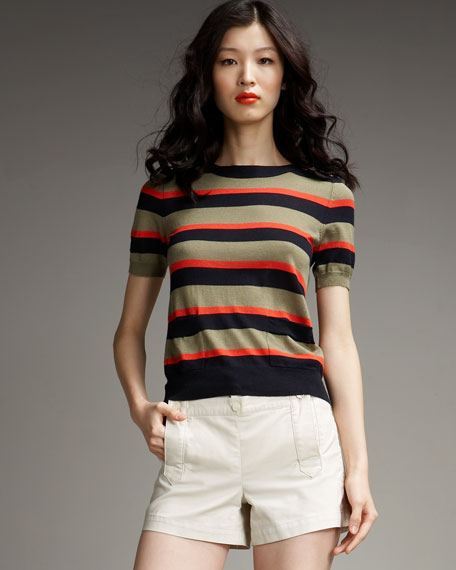 Clemence Striped Sweater