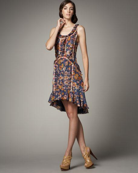Sebastiana Floral-Print Dress