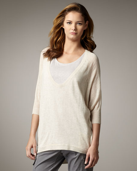 Easy V-Neck Top