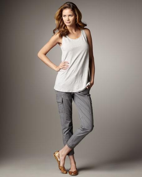 Slim Ankle Cargo Pants, Women's