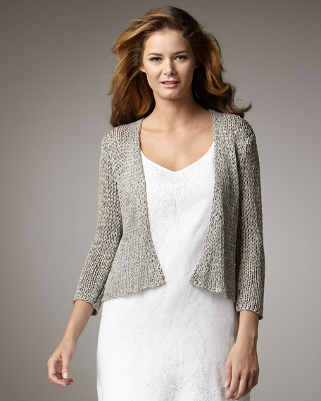 Open-Twist Cardigan