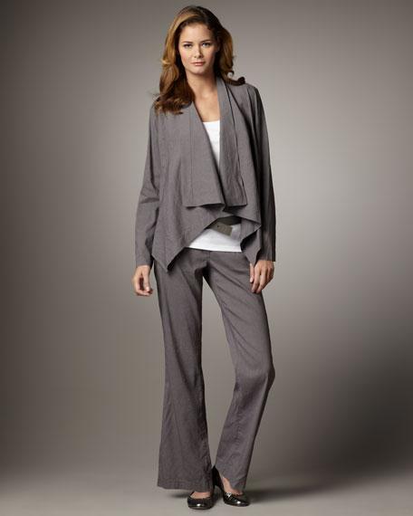 Classic Linen Trousers, Women's