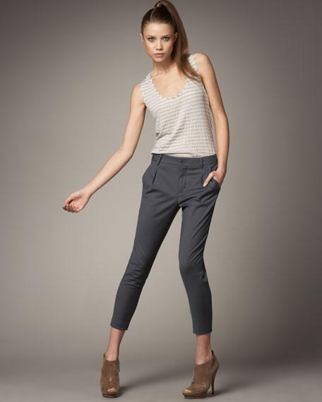 Fiji Slim Cropped Trousers