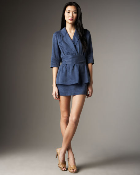 Allegra Blazer-Dress