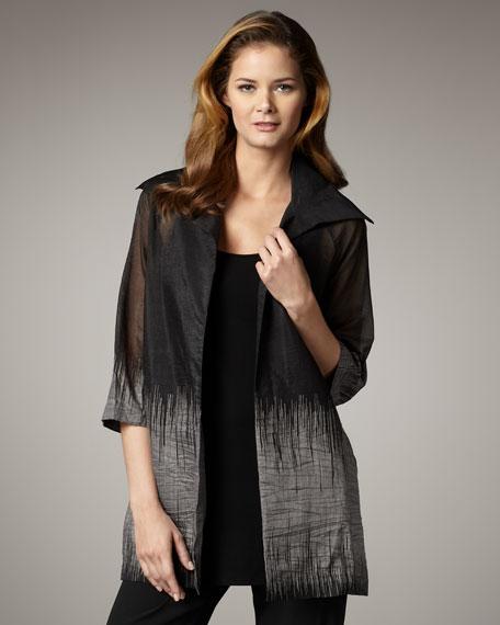 Scribble Organza Jacket, Women's