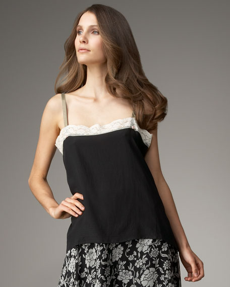 Thistle Lace-Trim Camisole