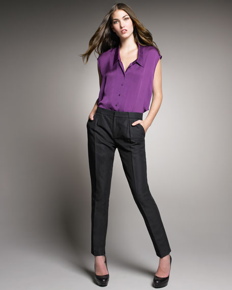 Slouchy Tailored Pants