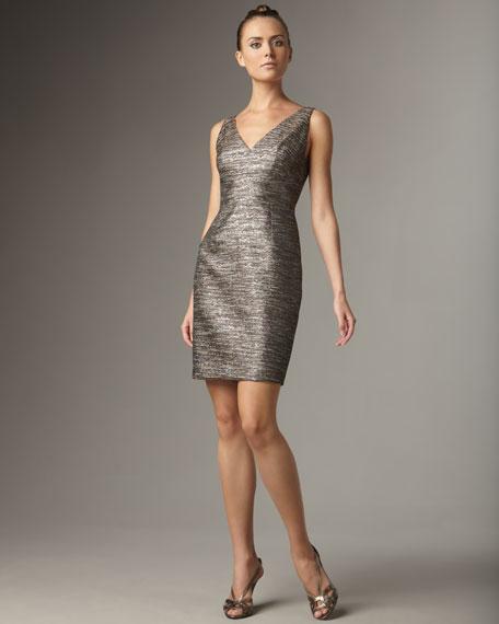 Metallic Rosie Dress