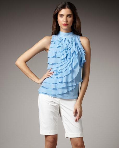 Waxed Cotton Shorts