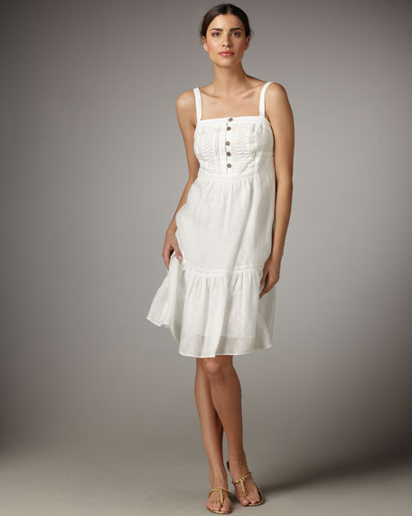 Hanna Linen Dress