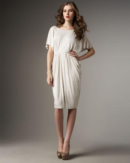 Draped Grecian Dress