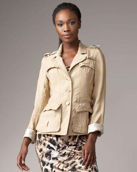 Button Safari Jacket