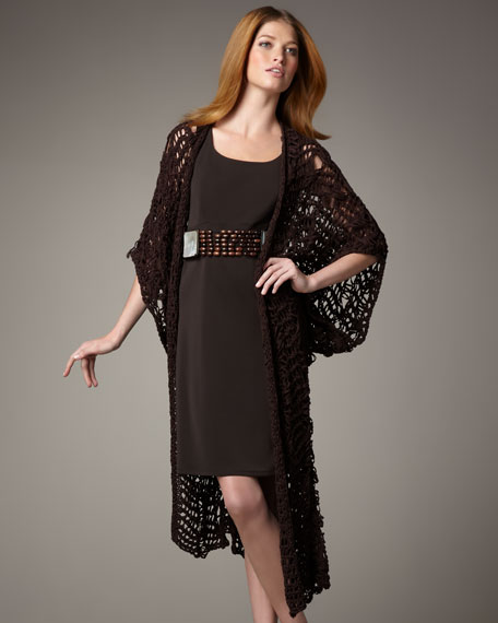 Crochet Kimono Cardigan
