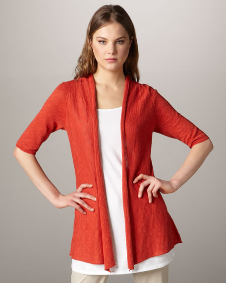 Raglan-Sleeve Cardigan, Women's