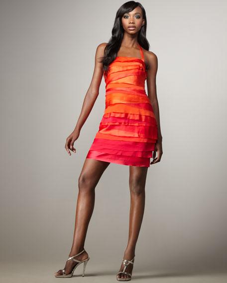 Tiered Halter Dress