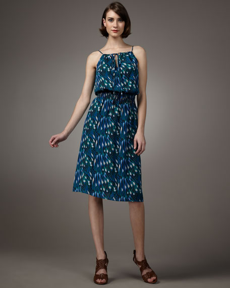 Shelbee Anemone-Print Dress