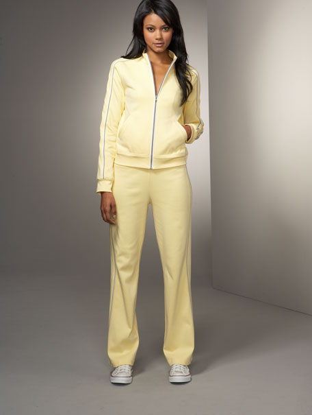 Tipped Cotton Tracksuit, Women's