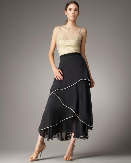 Chiffon Gypsy Skirt