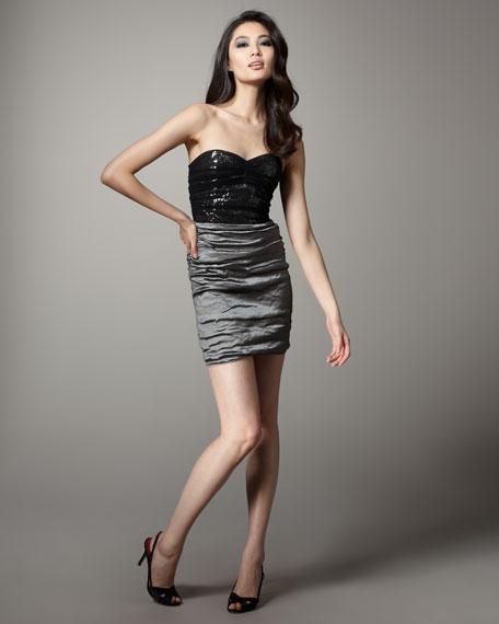 Two-Tone Techno Dress