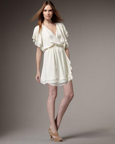 Flowy Wrap Dress