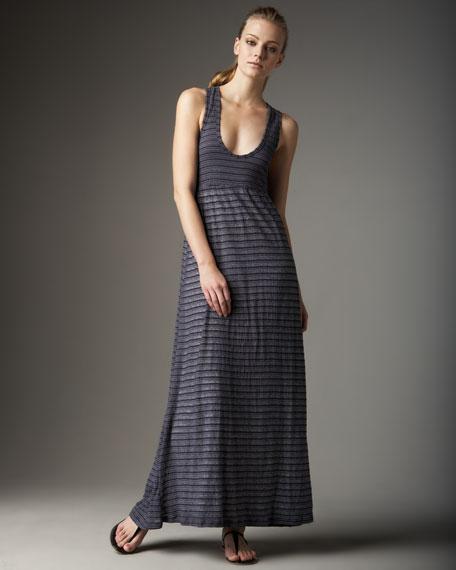 Striped Maxi Tank Dress