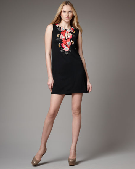 Gossip Embroidered Dress