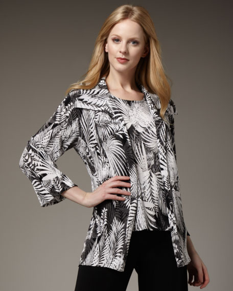 Caroline Rose Classic Tropical Jacket