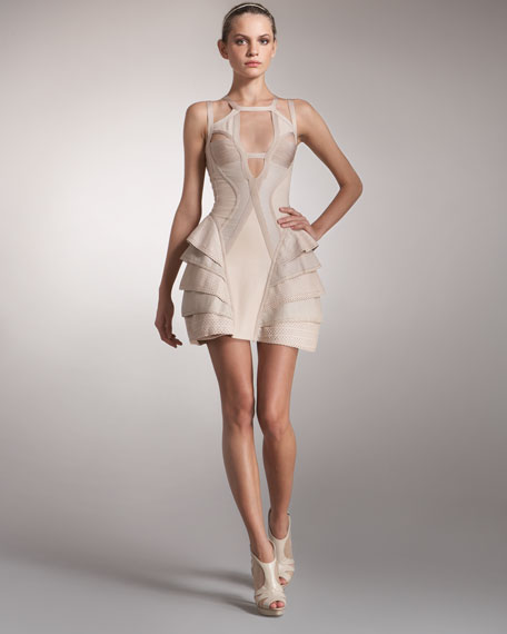 Multi-Strap Runway Dress